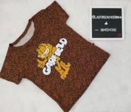 Camiseta T shirt Garfield