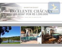 CH0415 - Chácara com 5 dormitórios à venda, 20310 m² por R$ 1.200.000 - Malhada - São José