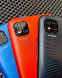 Xiaomi Redmi 9c 64gb/3gb Ram Dual Sim Com Garantia De 6 Meses Cor Cinza/Azul/Laranja
