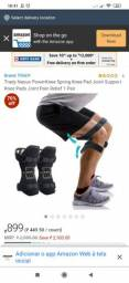 Power knee strap