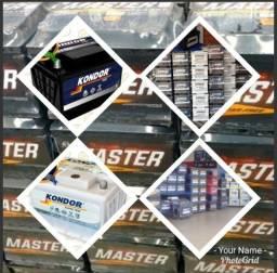 Bateria 60 amperes de 220,00 Por 04 Parcelas de 49,50, Ligue 4103-1133 Bateria