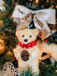 Linda Árvore de Natal com decoração