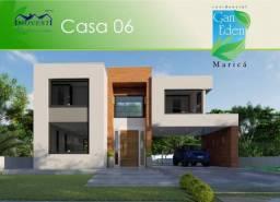 Belíssima casa duplex á venda no Condomínio Gan Éden - Ubatiba - Maricá/RJ