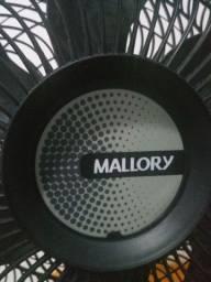 Ventilador Mallory Olimpo TS, 126W, 6 Pás, 3 Velocidades, 40 cm<br>