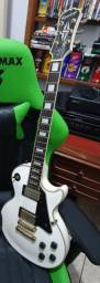 Guitarra les paul Epiphone custom alpine white
