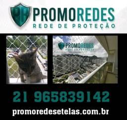 Redes de proteção para animais domésticos