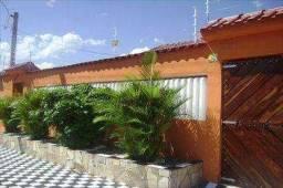 Casa à venda com 2 dormitórios em Balneário flórida mirim, Mongaguá cod:156101