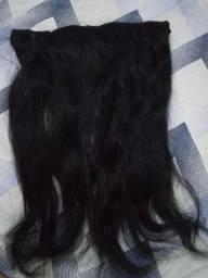 Tela de cabelo humano preto