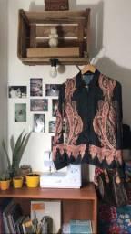 camisa estampada monnari