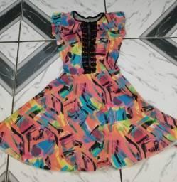 Vestido feminino tule