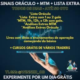 Free: Oráculo, MTM e Lista Extra. Sinais IQ Option