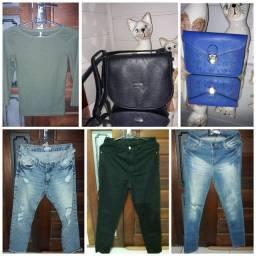 Lote 31 roupas p/ revender em brechó
