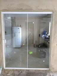 Porta vidro temperado novo