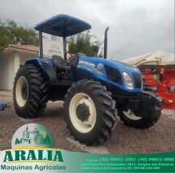 Trator New Holland TL 75 ano 2014