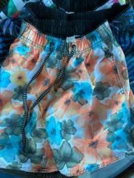 Shorts de praia!
