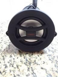 Caixa de Som 215A com Bluetooth e 25W de Potência TRC - Preta<br><br>