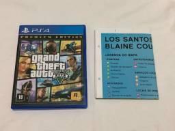 Jogo GTA 5 Premium Edition - PlayStation 4