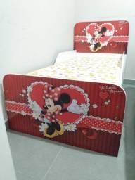 Mini cama  c/ colchão novo #entrego