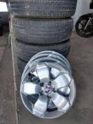 Pneus rodas e carlota da Fiat Toro