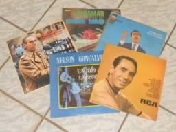 LPs - Nelson Gonçalves e Outros (Liquida: 5 LPs)