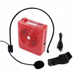 (WhatsApp) microfone amplificador megafone