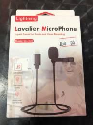 Microfone de Lapela para IPhone