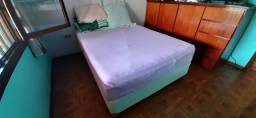 Vendo cama box com colchão Sleep House