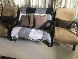 Conjunto de cadeiras luxo