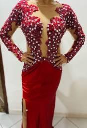 Vestido vermelho pra festa / formatura