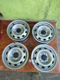 Rodas ferro arro 14 s.nova Fiat 450