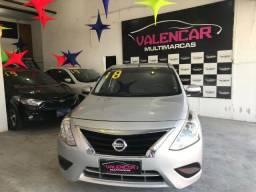 Nissan Versa 1.0 Manual 2018. Entrada à Partir de R$ 1.000,00