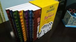 Box com Livros Diário de Um Banana