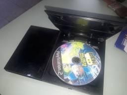 PlayStation 2 ,não sei se está funcionando faltando cabos e controle