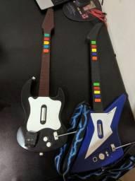 Duas guitarras de plastation 2 (leia a descrição)