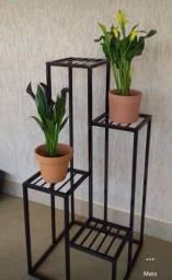 Suporte plantas em ferro