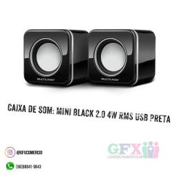 Mini Black 2.0 4W RMS USB