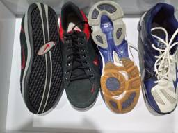 Tênis Nike e Mizuno 46/47