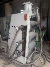 Flat die 600mm calandra e puxador rulli