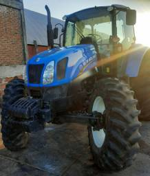 Trator new holland T6 impecável