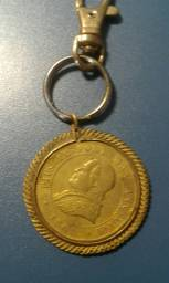 Chaveiro moeda