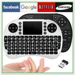 Mini Teclado Wireless Bluetooth Touchpad Tv Box Xbox 360 Ps3. NOVO
