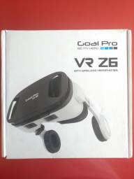 Óculos de Realidade Virtual: Goal Pro VR Z6 - Ler Descrição