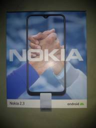 Nokia 2.3 camera 13 + 2 mp, tela 6.2, ultra fino, 32 gb, bateria dura novo