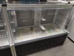 Vitrine refrigerada e seca 140cm gelopar linha aurora nova pronta entrega *douglas