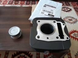 Kit cilindro,pistão,anéis e jogo de juntas(STD)