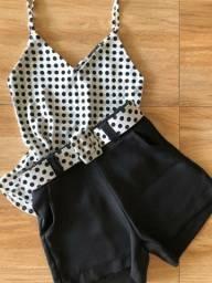 Conjunto de Shorts Blusinhas