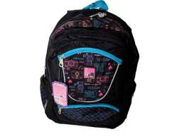 Mochila Clio Girls Juvenil Resistente Original Notebook