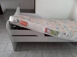 Cama Infantil + Armário + Colchão
