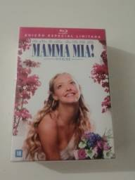 Blu Ray Mamma Mia! O Filme - Livreto + Filme + Brinde