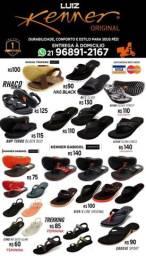 Sandálias kenner ? original com garantia durabilidade conforto e estilo para seus pés.